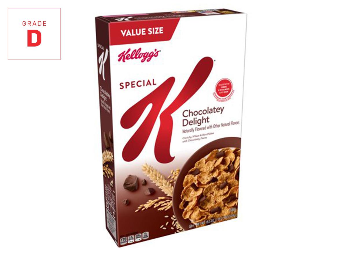 special k chocolatey graded