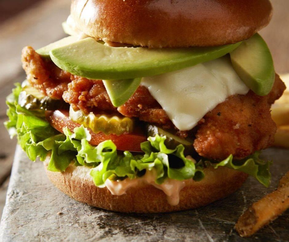 Bacon Ranch Sandwich from TGI Fridays