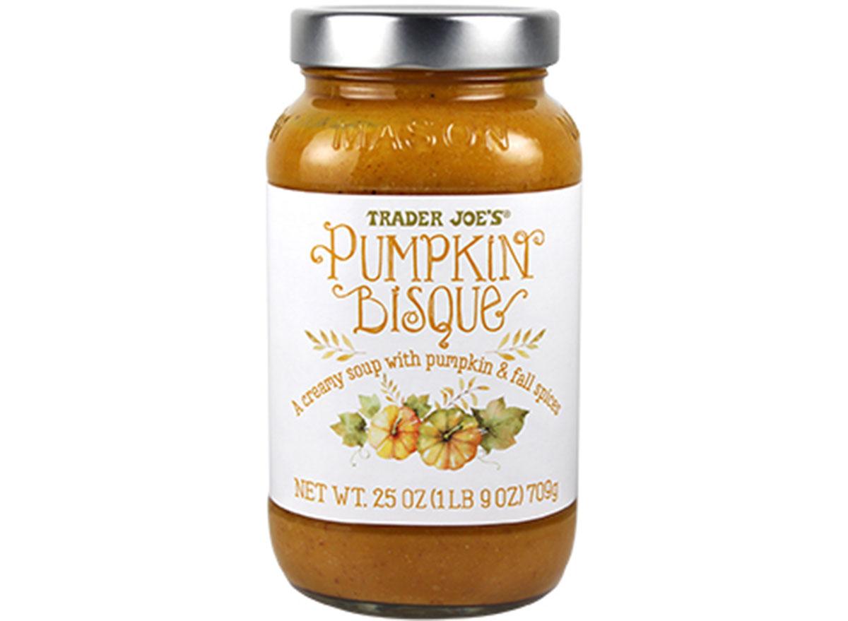 trader joes pumpkin bisque