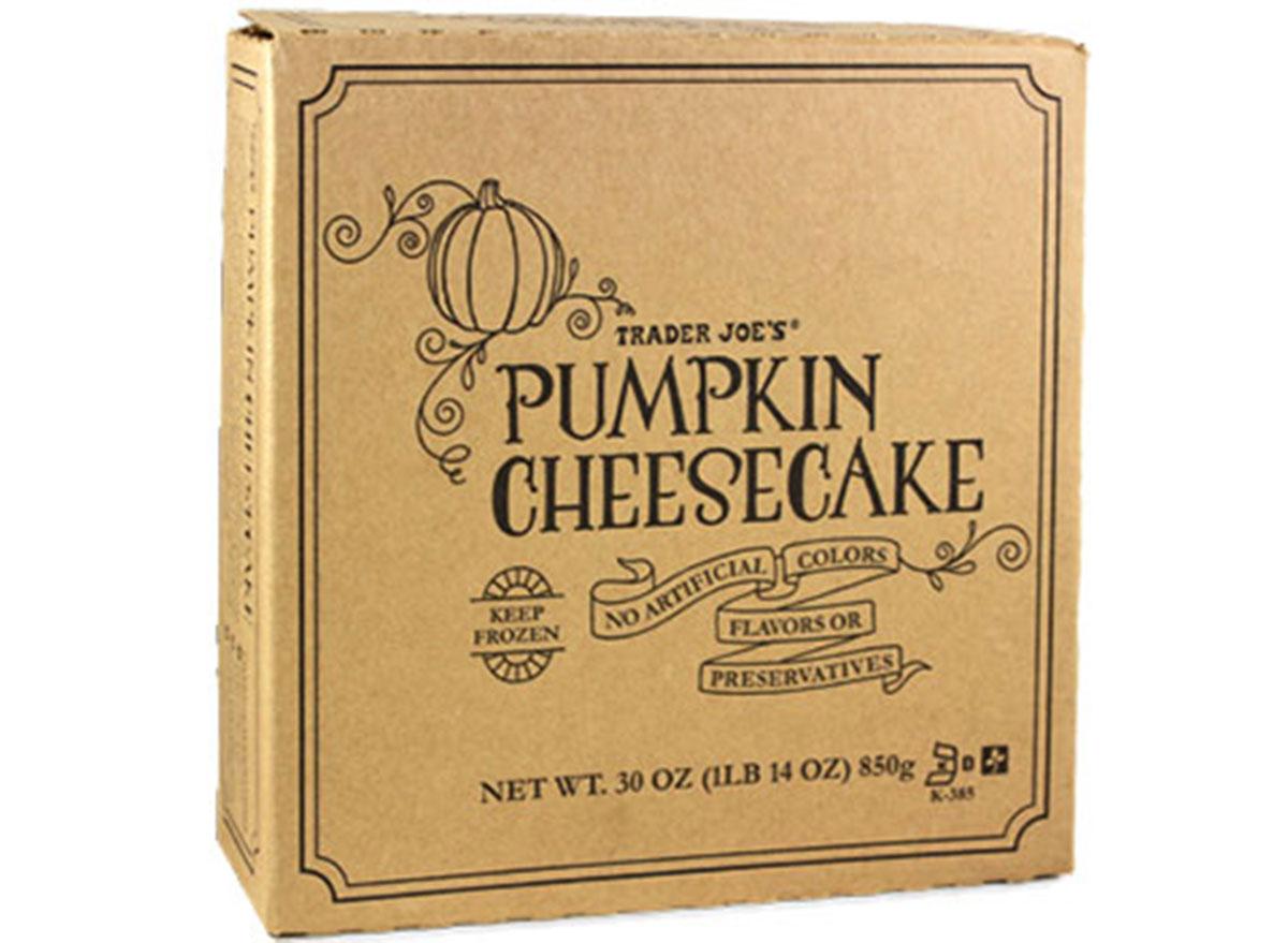 trader joes pumpkin cheesecake