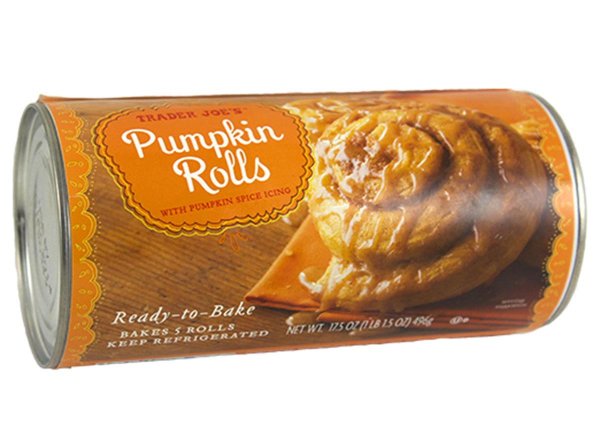 trader joes pumpkin rolls