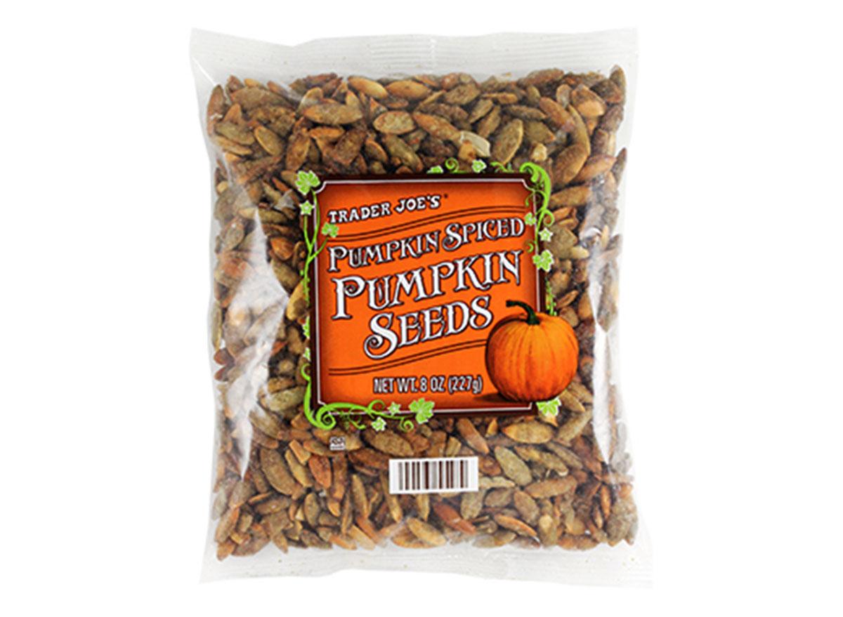 trader joes pumpkin spice pumpkin seeds