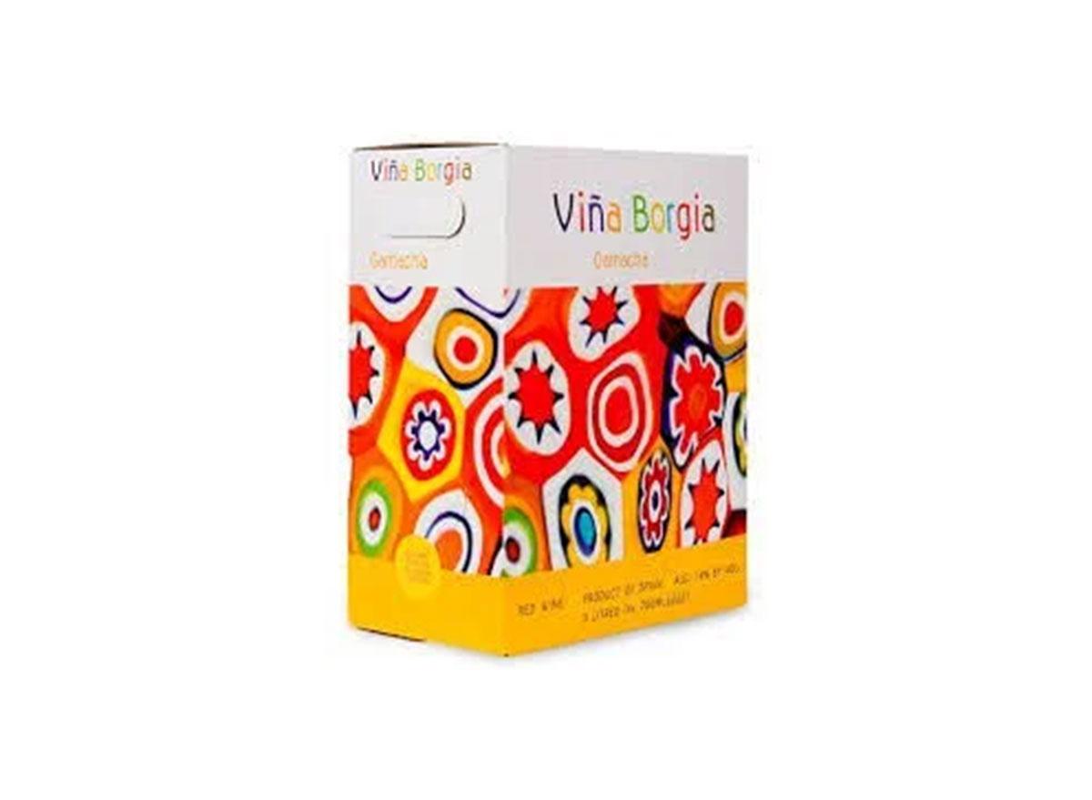 Vina borgia wine box