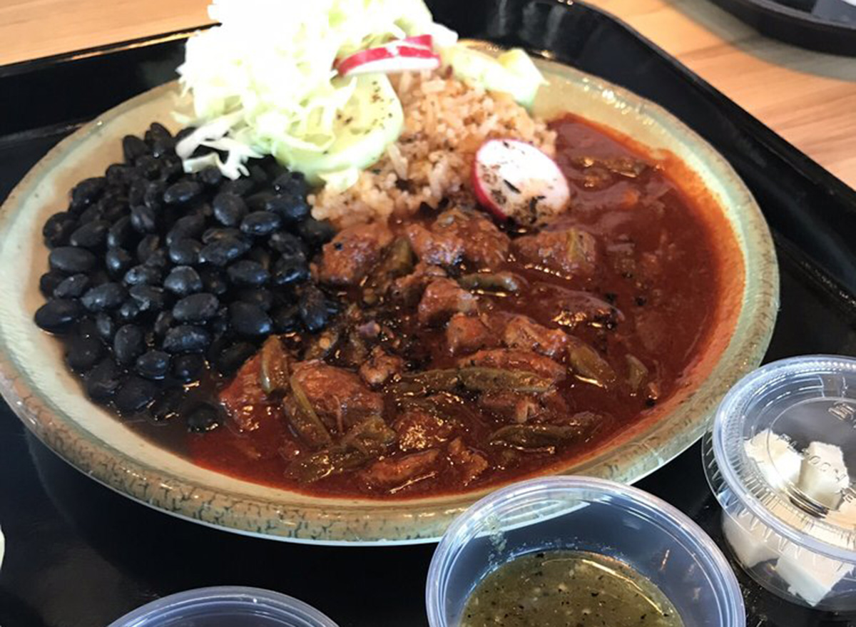 virginia abuelitas rice, beans and meat