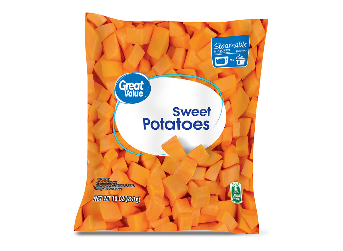 walmart great value sweet potatoes