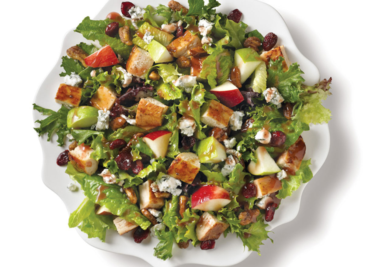 wendys apple pecan chicken salad