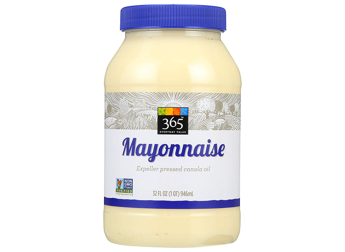 whole foods 365 mayonnaise in jar