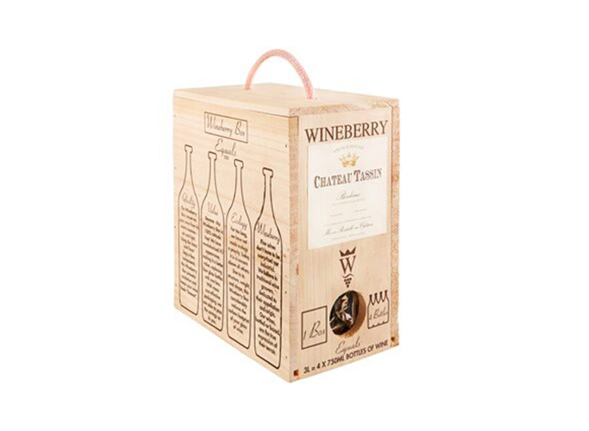 wineberry chateau tassin boxed wine