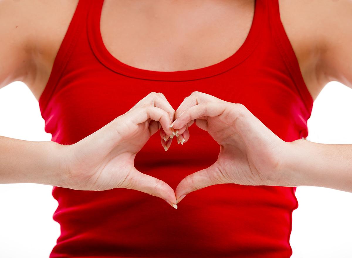 woman heart health