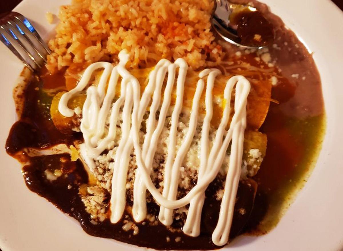 wyoming fiesta mexican restaurant enchiladas