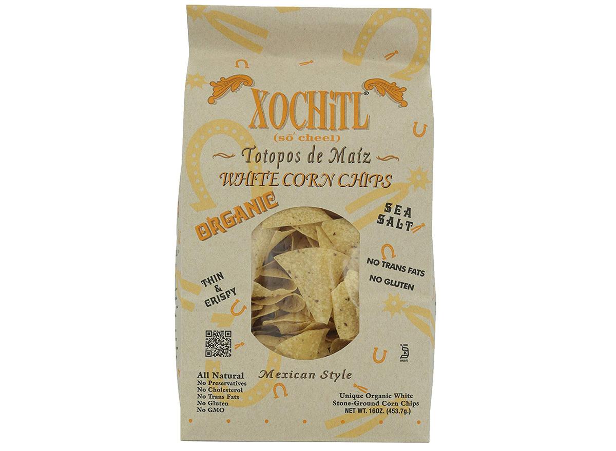 xochil tortilla chips in packaging