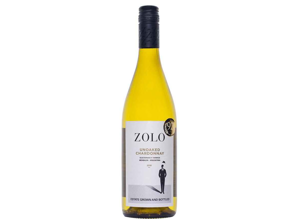 zolo chardonnay in bottle