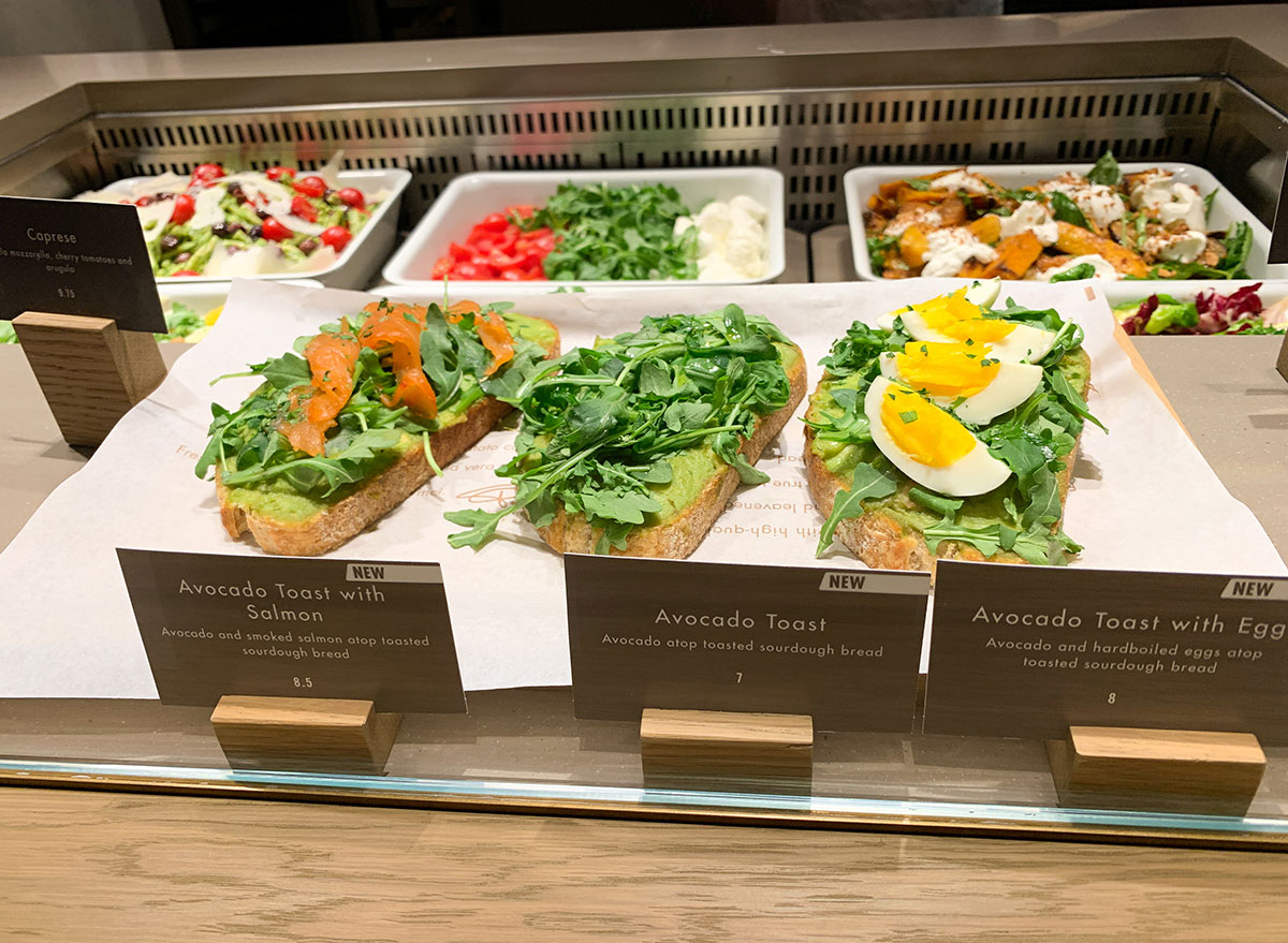 Toast station at the Chicago Starbucks Reserve