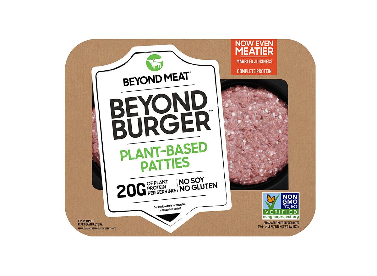 Meatier Beyond Burger Packaging