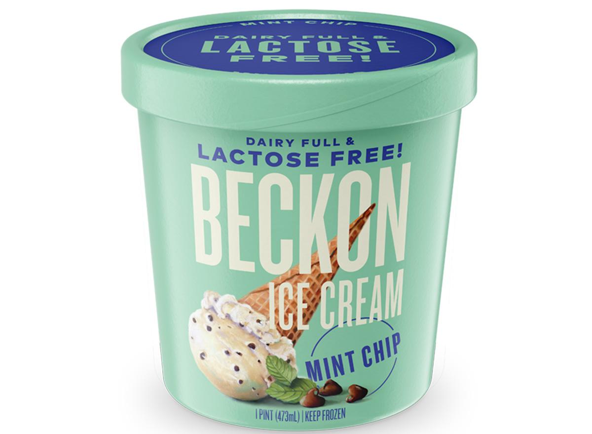 beckon ice cream mint chocolate chip