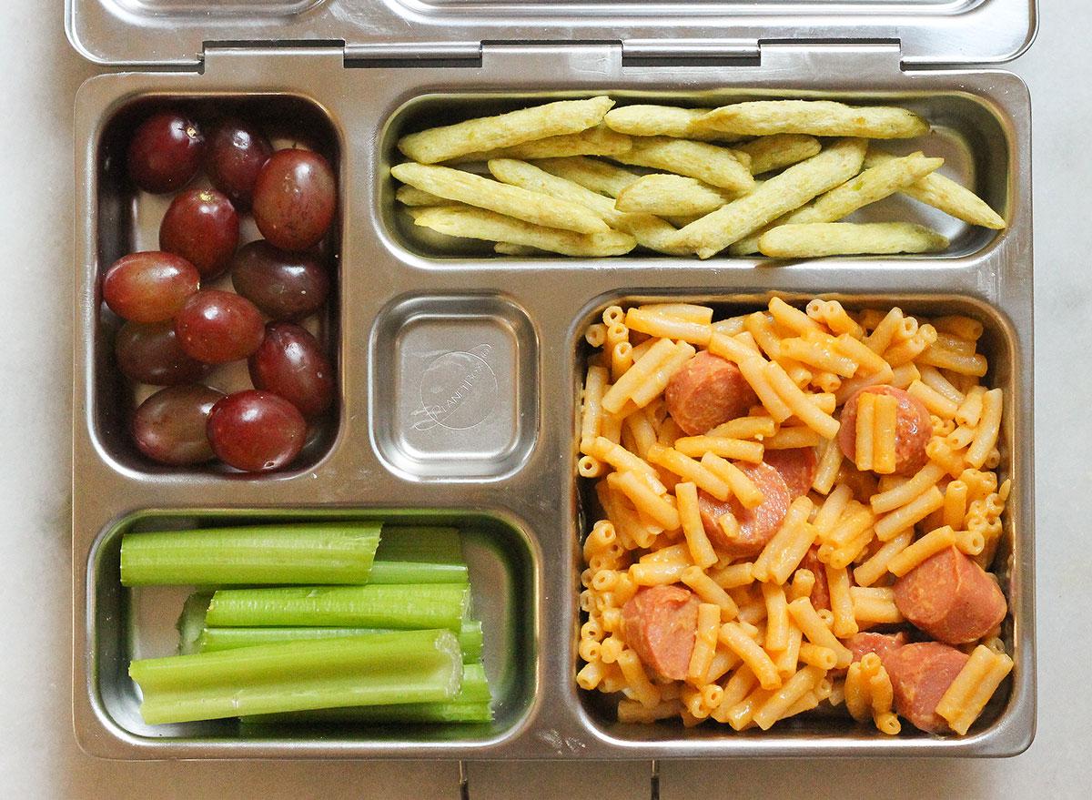 mac and cheese bento box