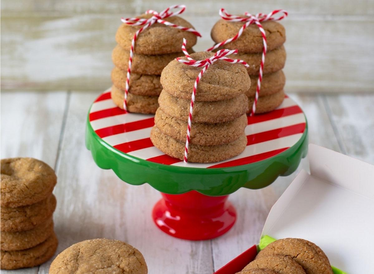 big soft ginger cookie