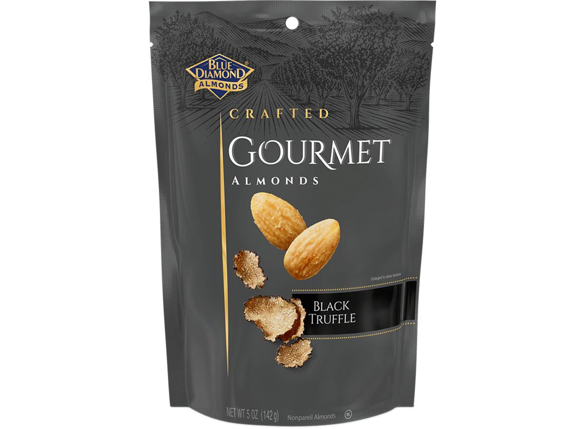 blue diamond gourmet almonds black truffle