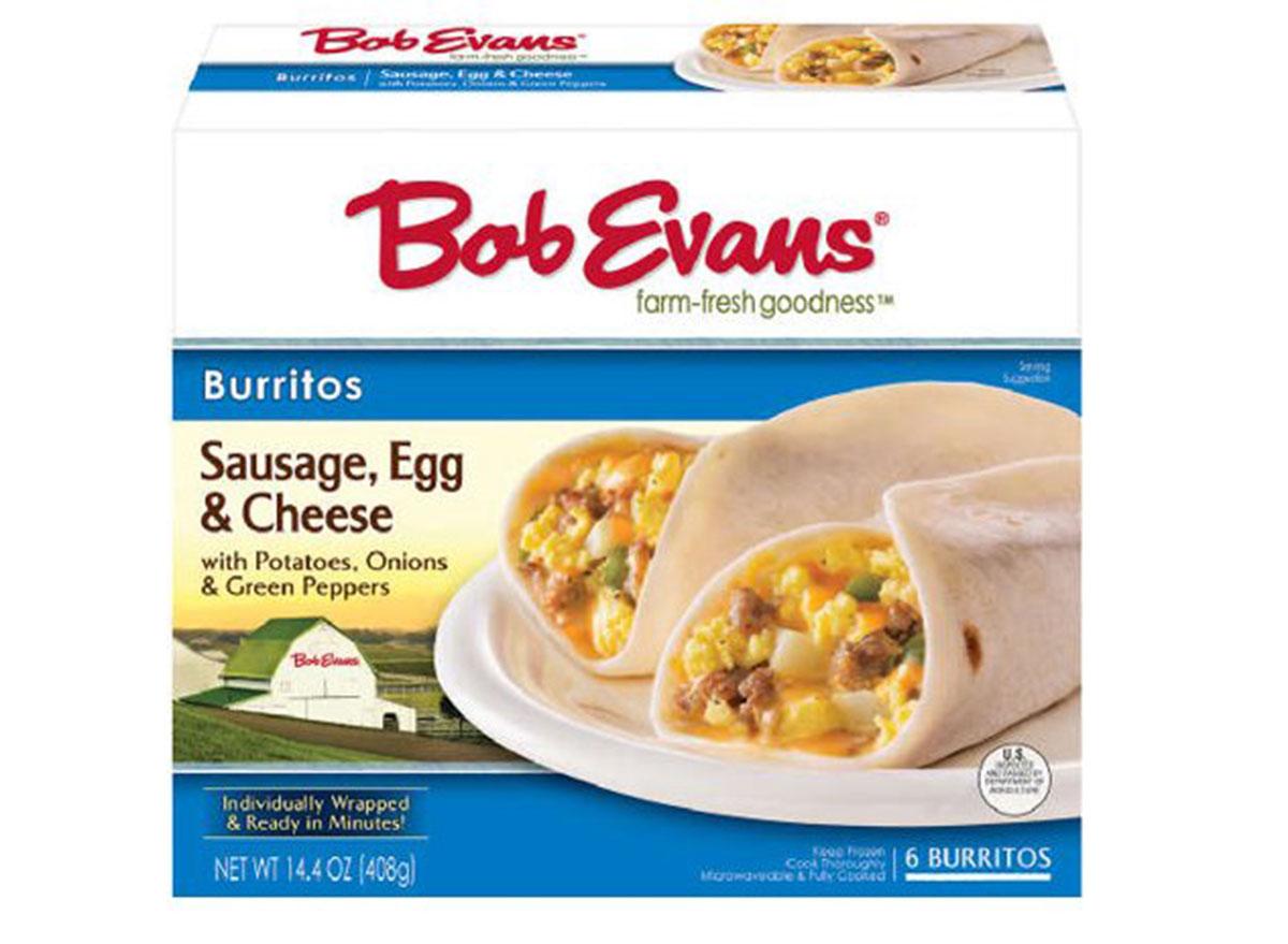 bob evans burrito