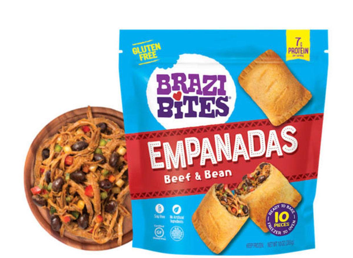 brazi bites empanadas beef and bean