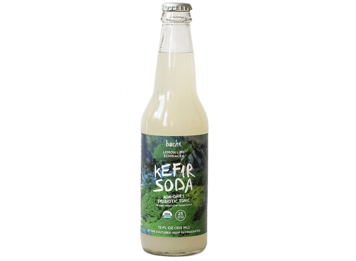 buchi kefir soda lemon lime echinacea