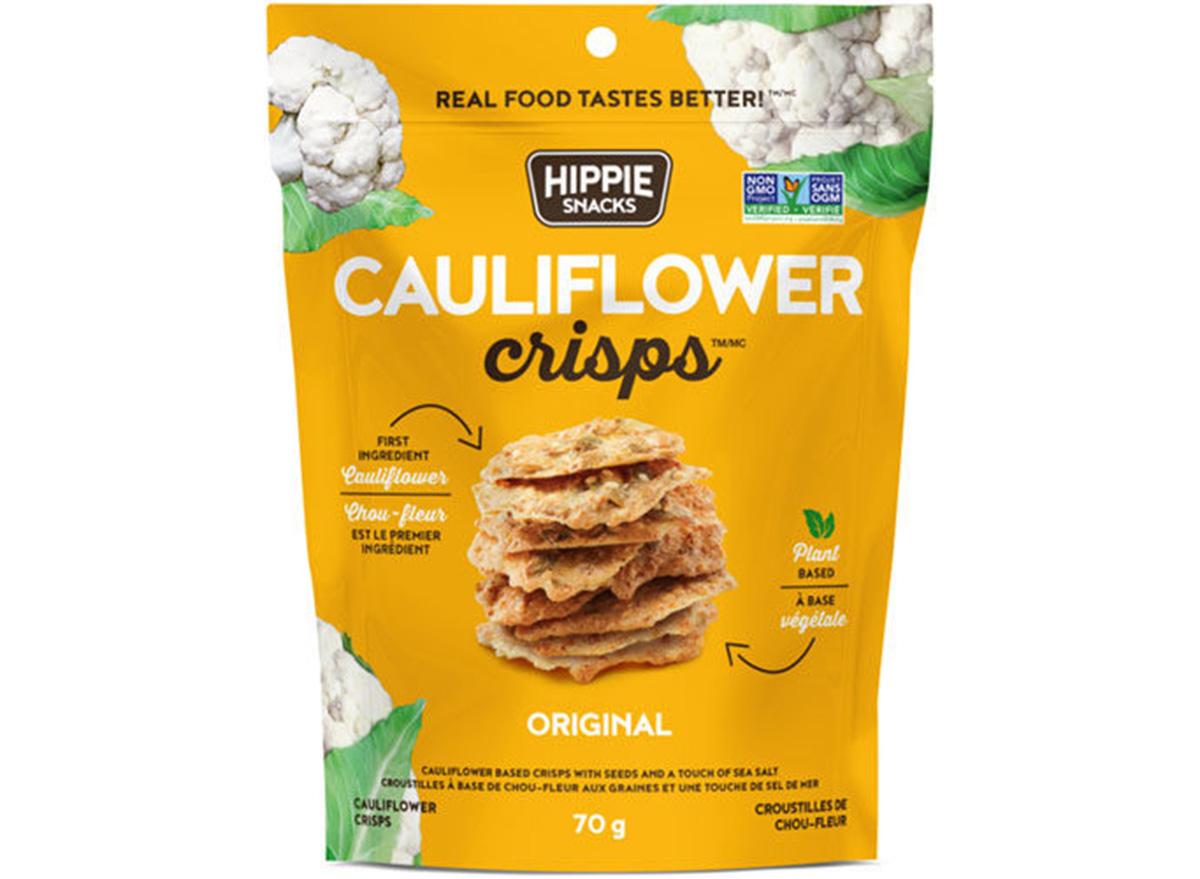 cauliflower crisps hippie snacks
