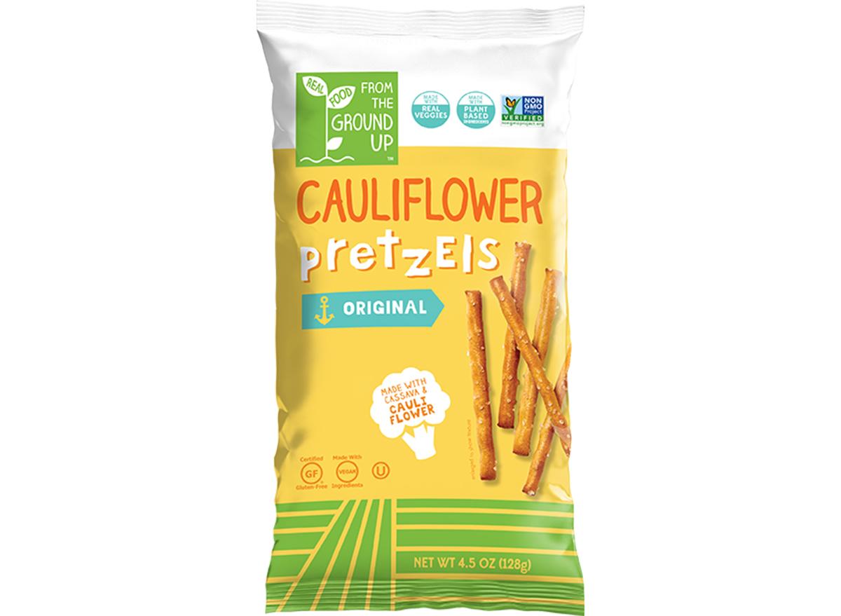 cauliflower pretzel sticks