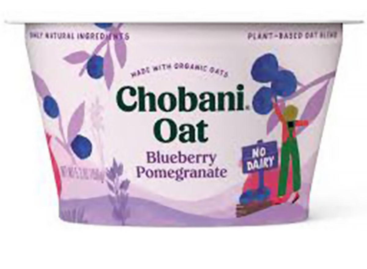 chobani oat blueberry pomegranate