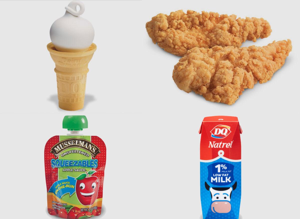 dairy queen kids meal