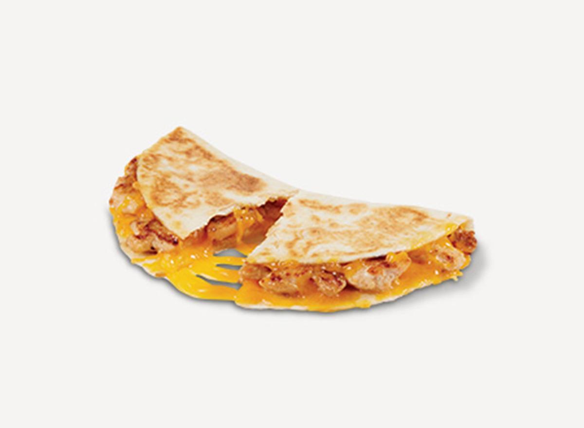 del taco chicken quesadilla snacker