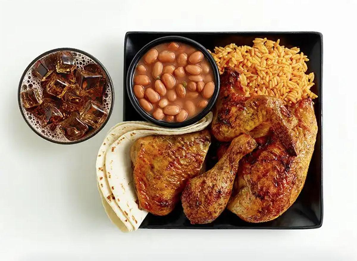 el pollo loco 4 piece chicken meal