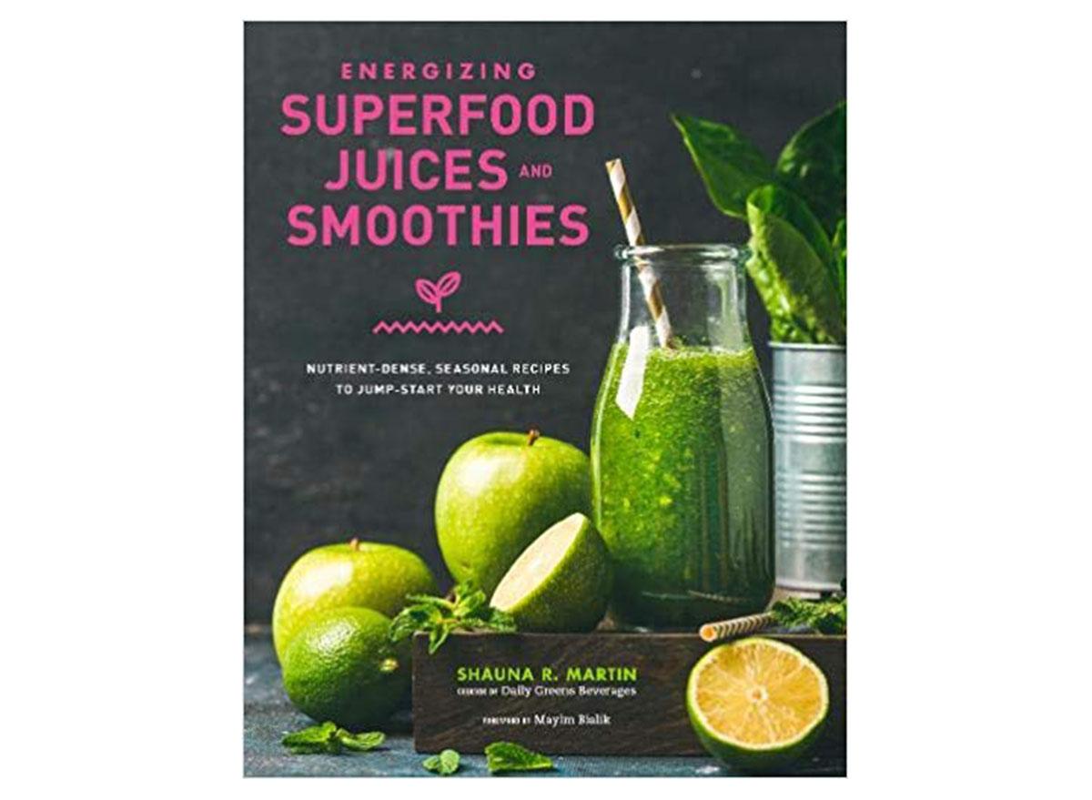 energizing superfood juices smoothies