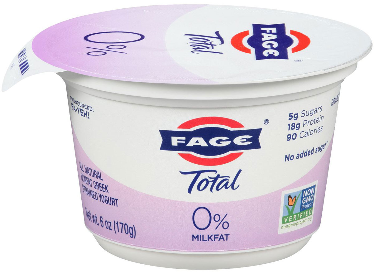 Fage greek yogurt total 0 percent