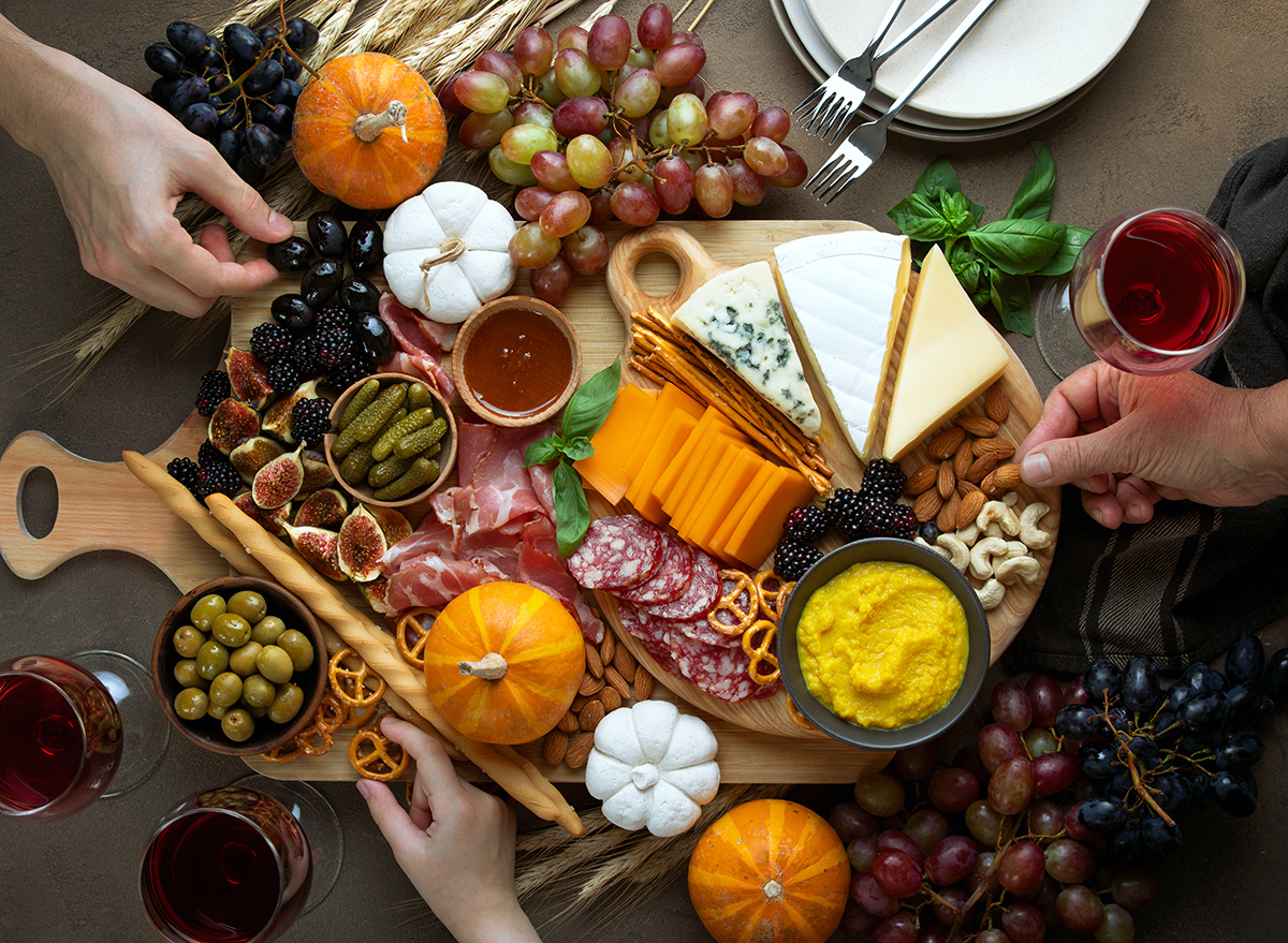 fall holiday party appetizers
