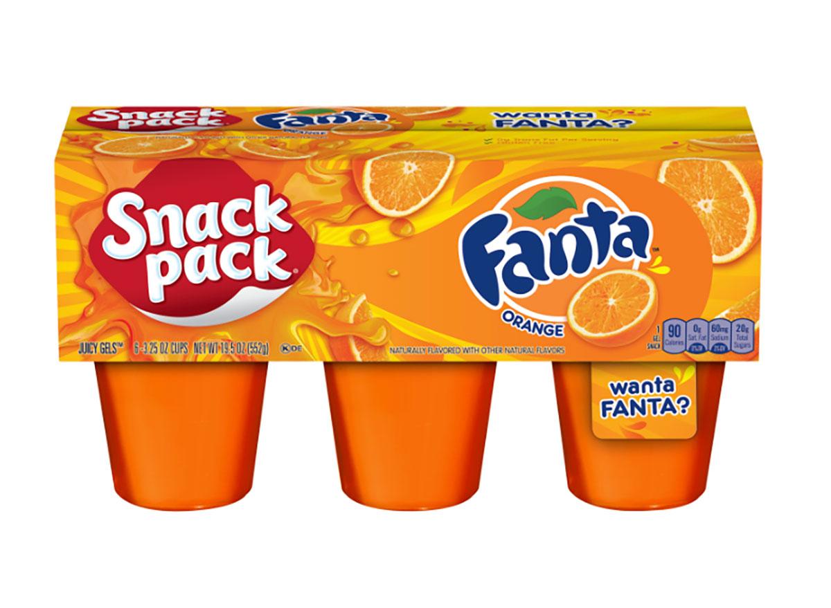 fanta orange snack pack pudding cups