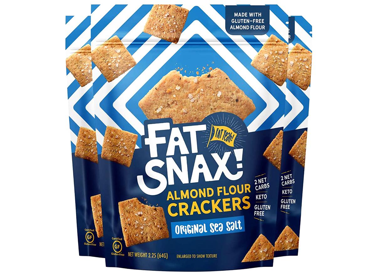 fat snax almond flour keto crackers