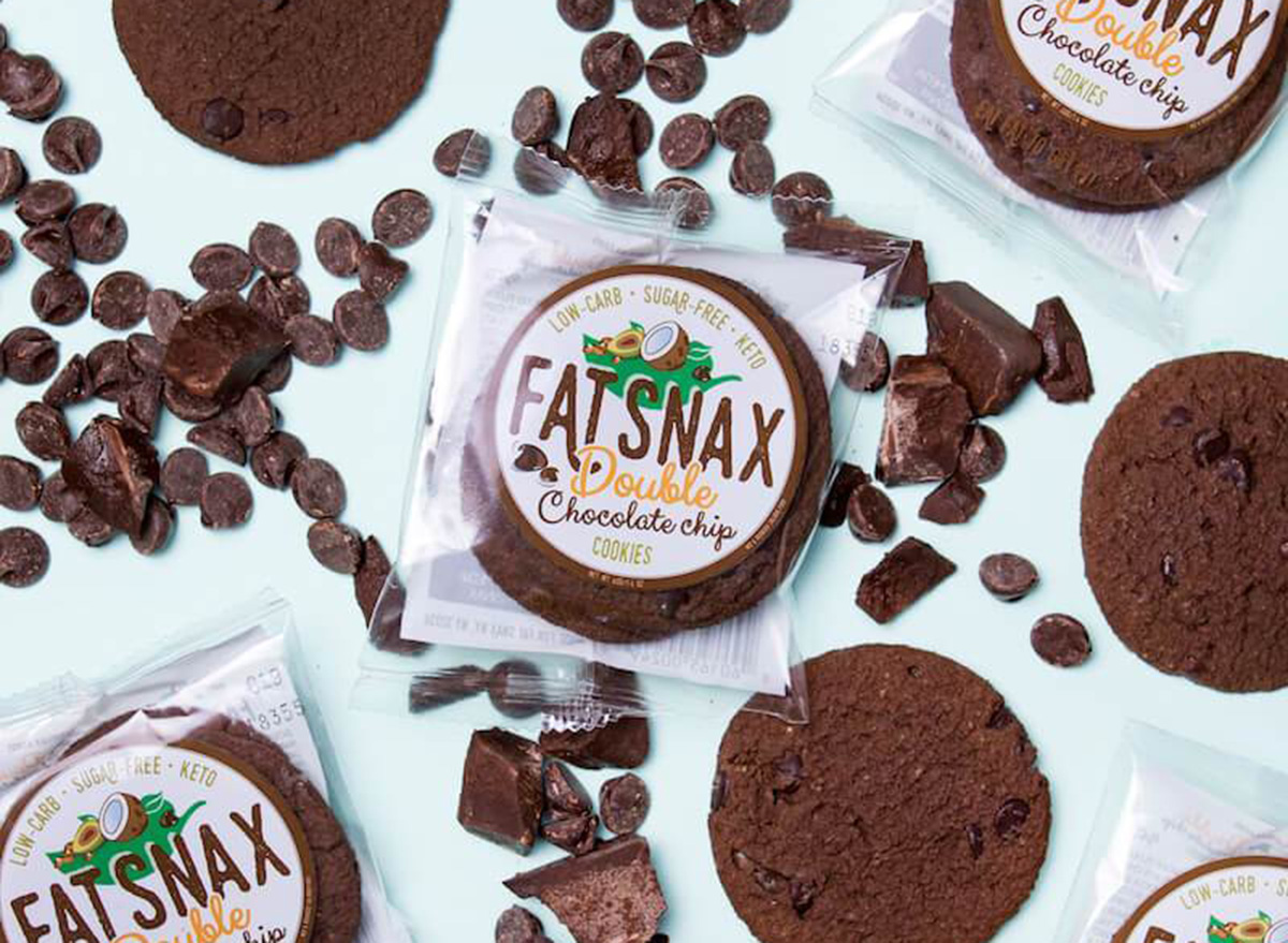 fat snax cookies double chocolate chip