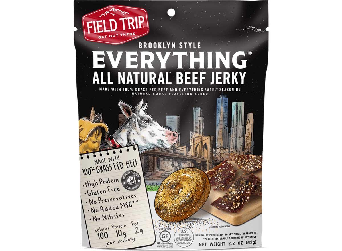 Field trip everything bagel jerky