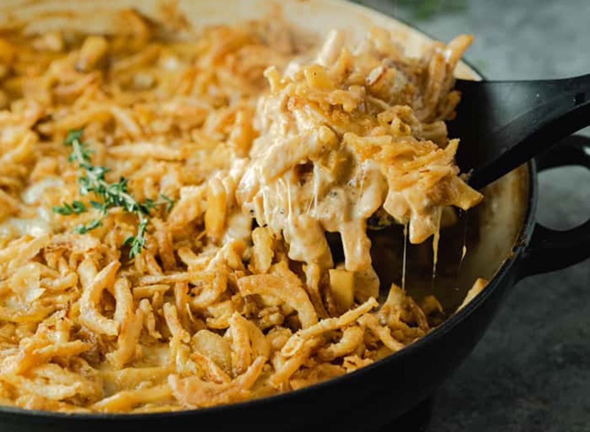 french onion noodle casserole