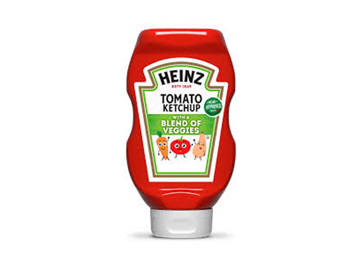 heinz tomato ketchup blend of veggies