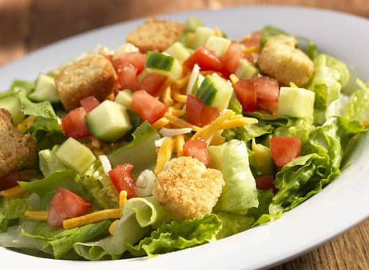 hooters side garden salad