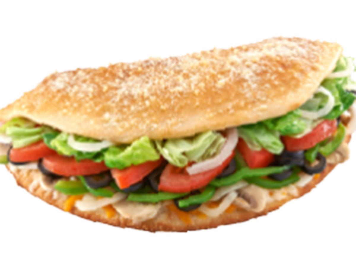 hungry howies regular veggie sub