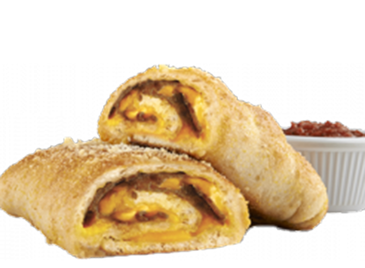 hungry howies steak and cheese roll