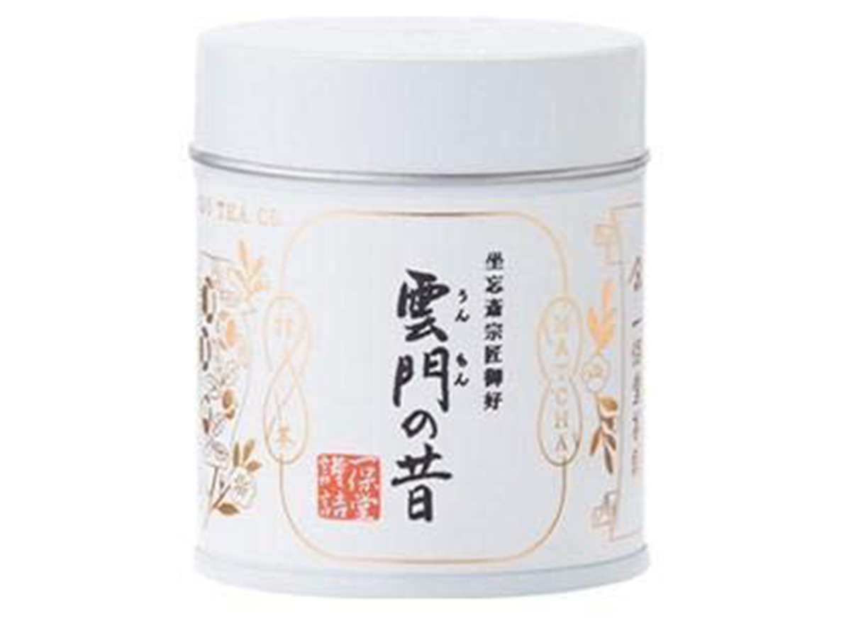 jar of ippodo matcha: ummon-no-mukashi