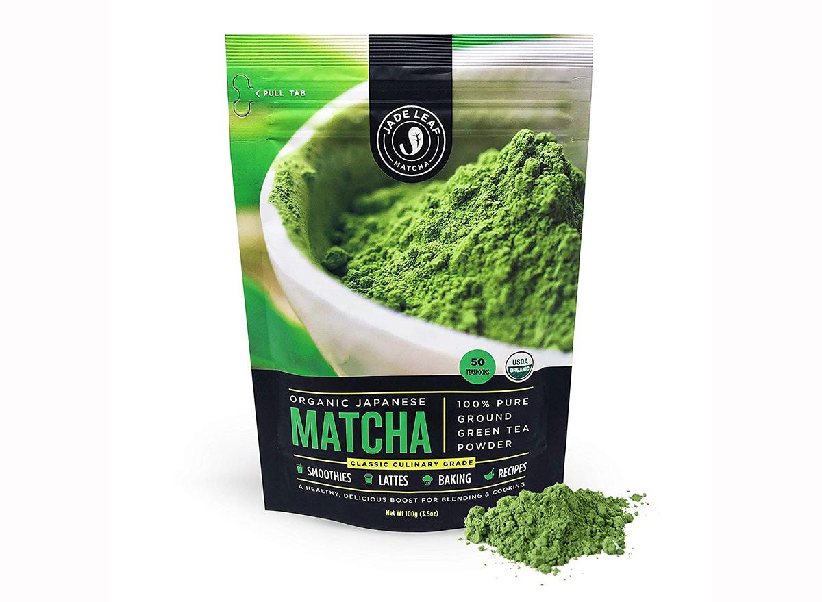 package of jade leaf matcha powder