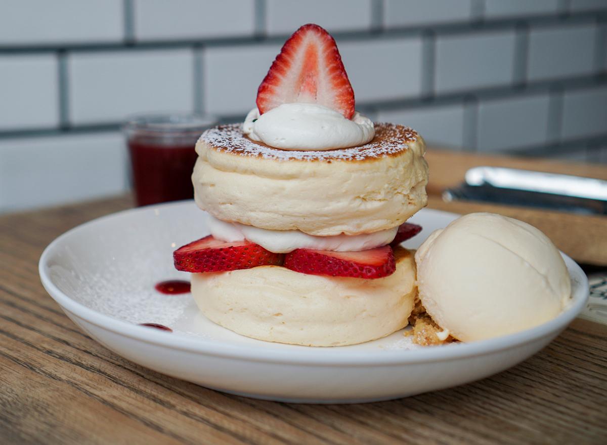 fluffy japanese souffle pancake