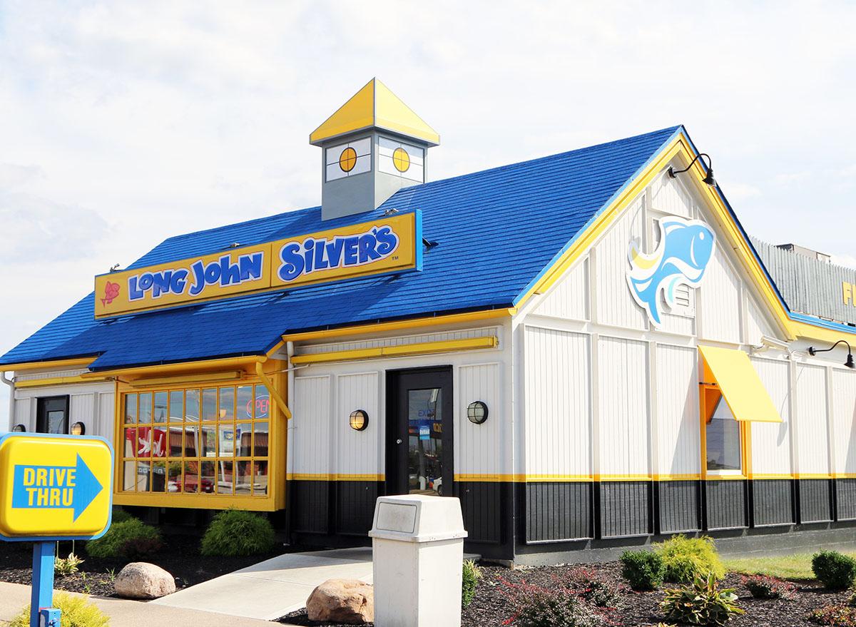 long john silvers storefront
