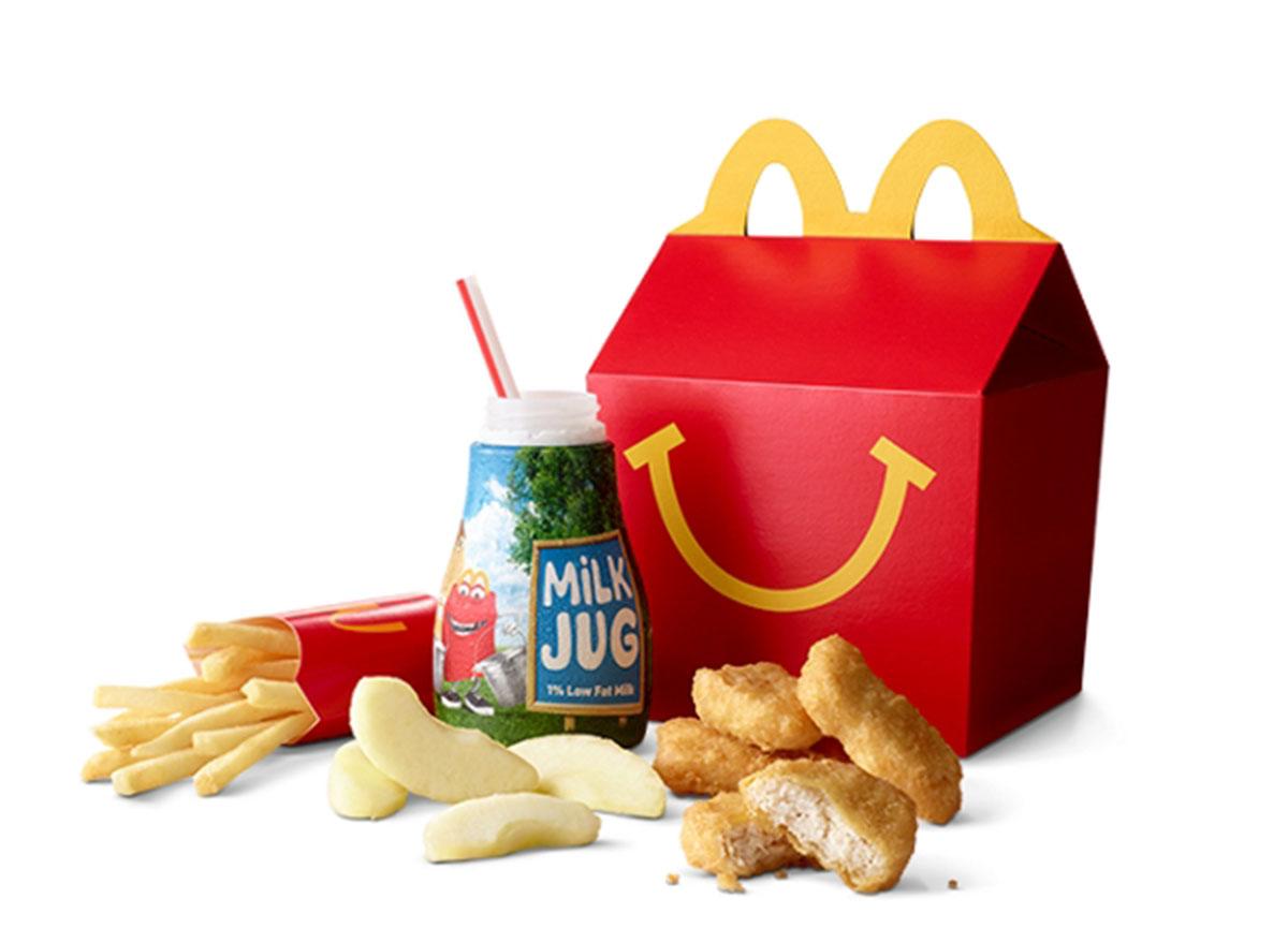 mcdonalds 4 piece chicken mcnuggets