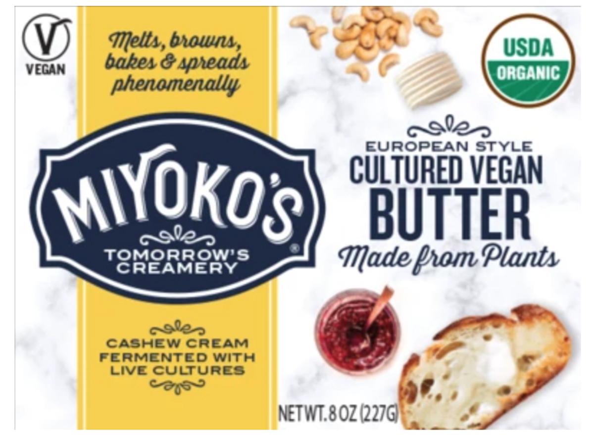 miyokos cultured vegan butter
