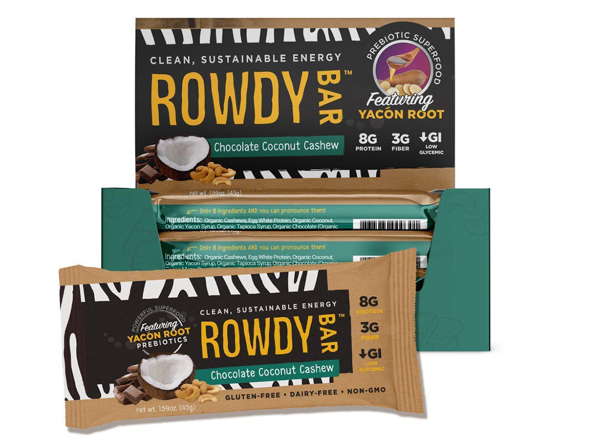 rowdy bar chocolate coconut cashew